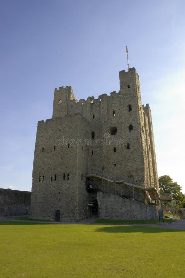 Rochester-Schloss lizenzfreies stockfoto