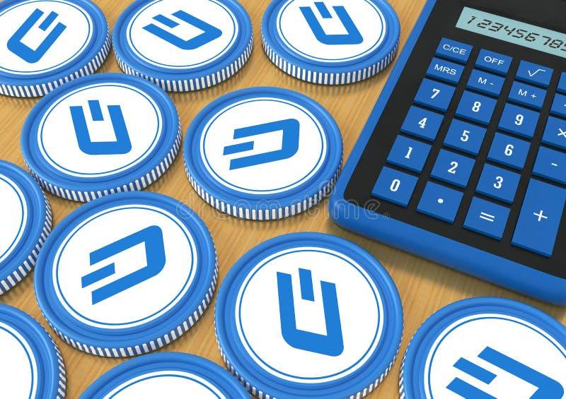 rociada El hacer una oferta en el intercambio con moneda Crypto Extracción o ilustración del vector
