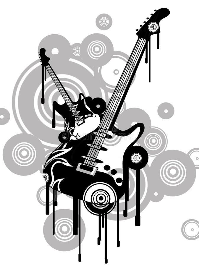 Rock illustration de vecteur