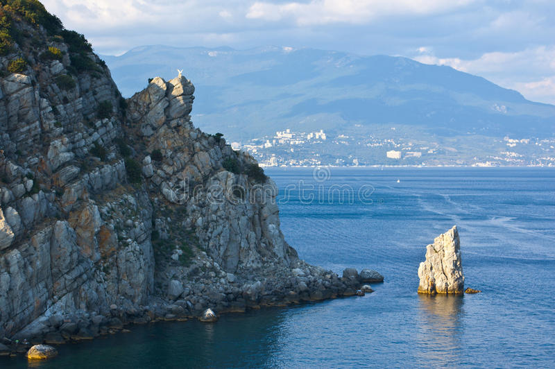 Download Rock editorial photography. Image of crimea, tourists - 27639082