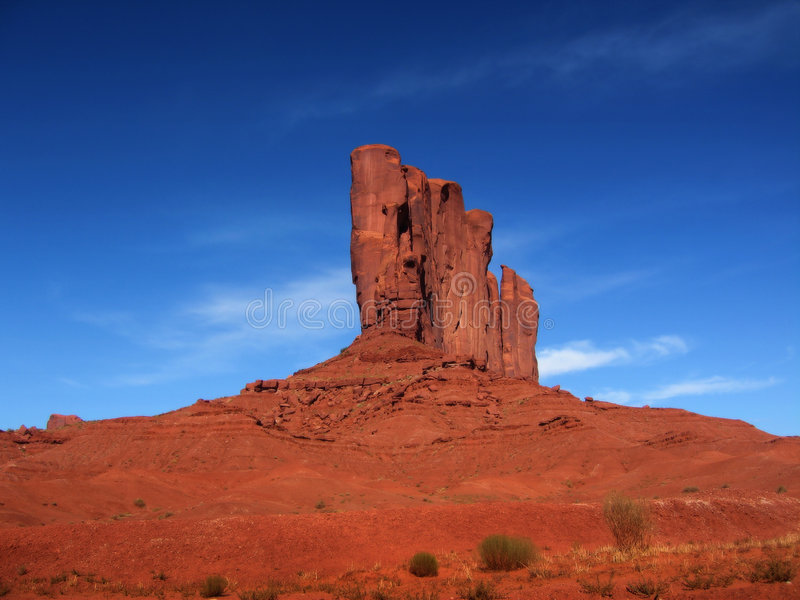 Rock. A weird rock formation - USA royalty free stock photography
