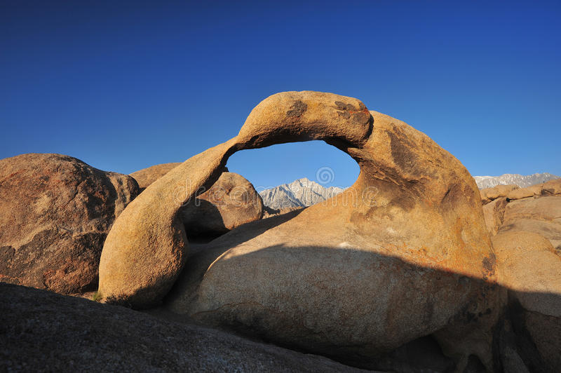 Download Rock arch stock image. Image of granite, mobius, sunlight - 27538699