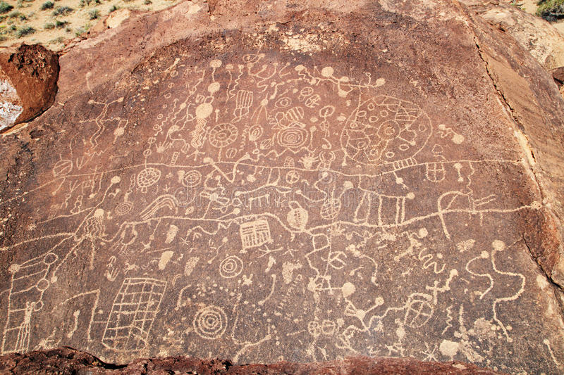 Download Rock art stock image. Image of carving, land, archaeology - 21220847