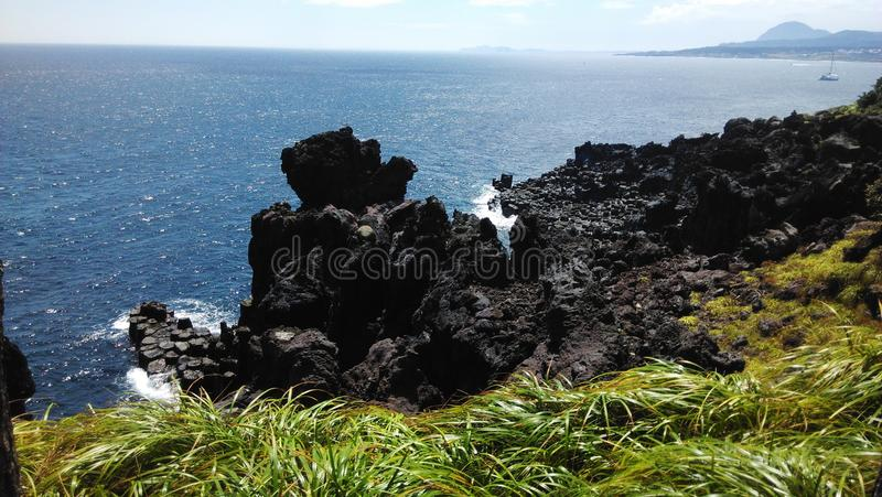 Rock a bye island stock images