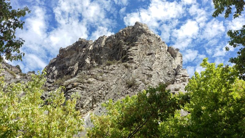 Rock Canyon Rocky Twisted Outcrop royalty free stock photo
