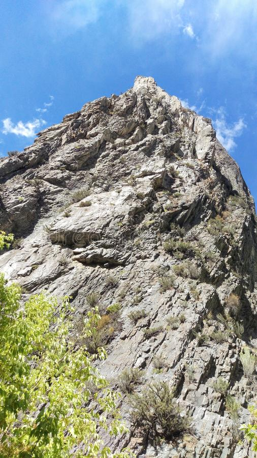 Rock Canyon Rocky Twisted Outcrop stock images