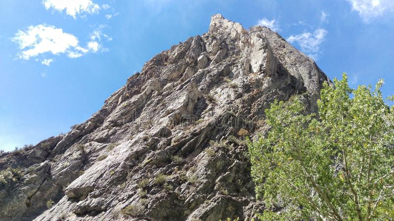 Rock Canyon Rocky Twisted Outcrop royalty free stock image