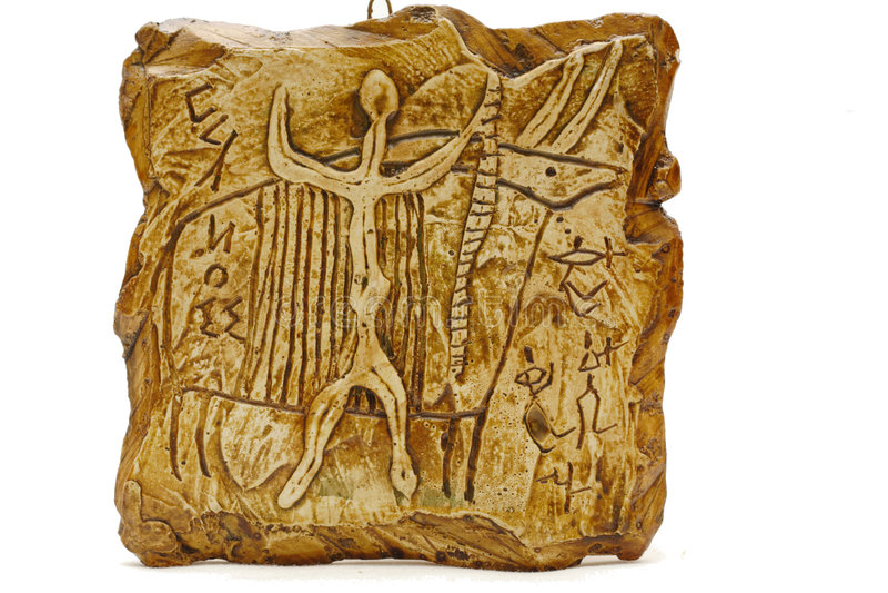 Download Rock carvings stock image. Image of deer, story, merican - 2712381