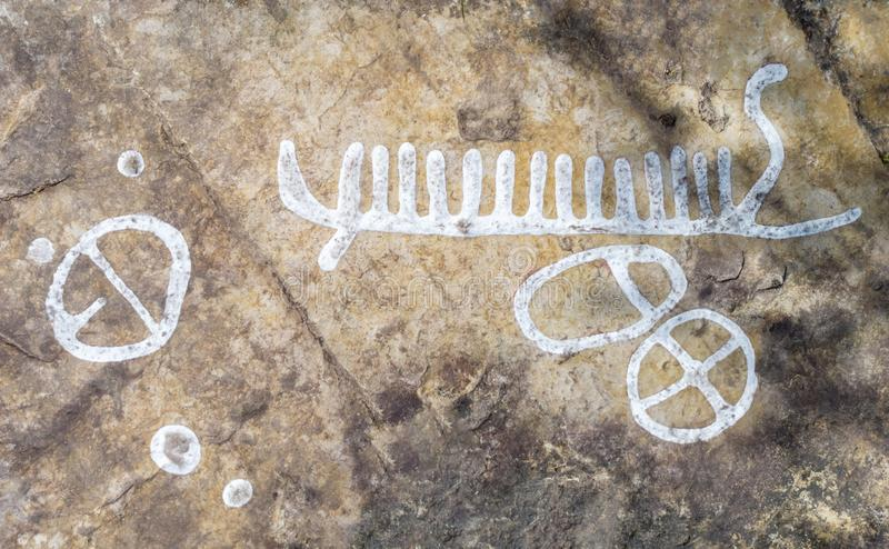 dating rock carvings