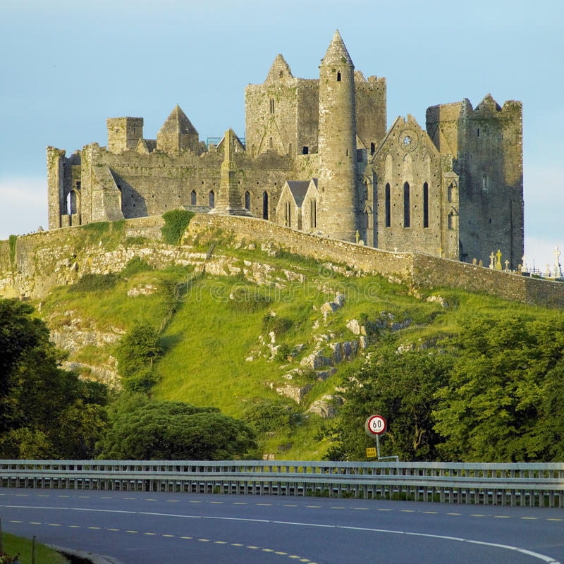 Download Rock of Cashel stock photo. Image of tipperary, county - 18782514