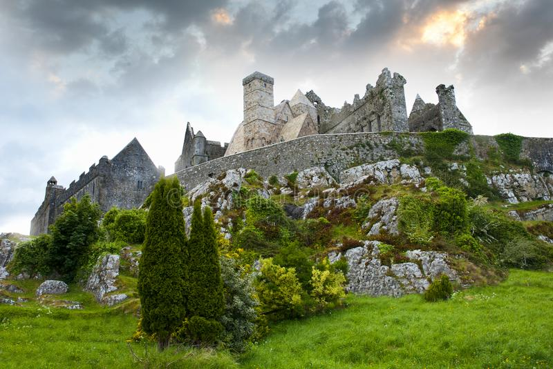 The Rock of Cashel stock images