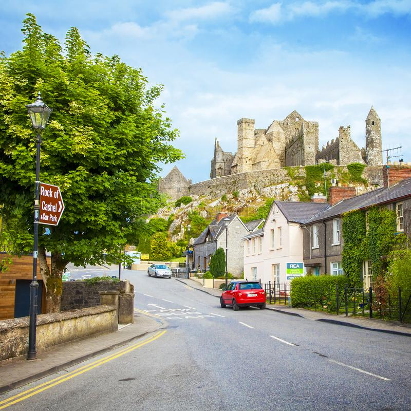 Rock of Cashel, Ireland royalty free stock images