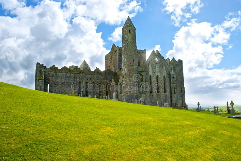 The Rock of Cashel royalty free stock photos