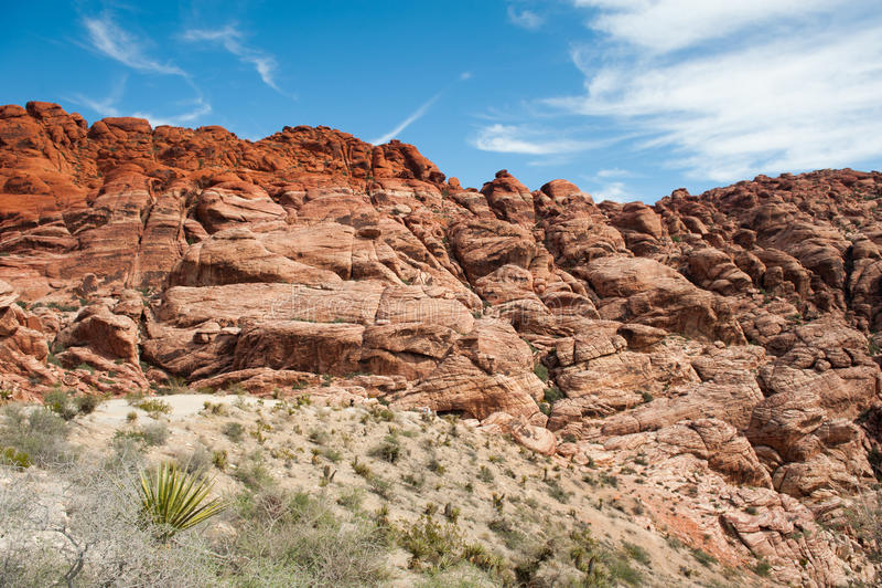Rock Cliff stock image