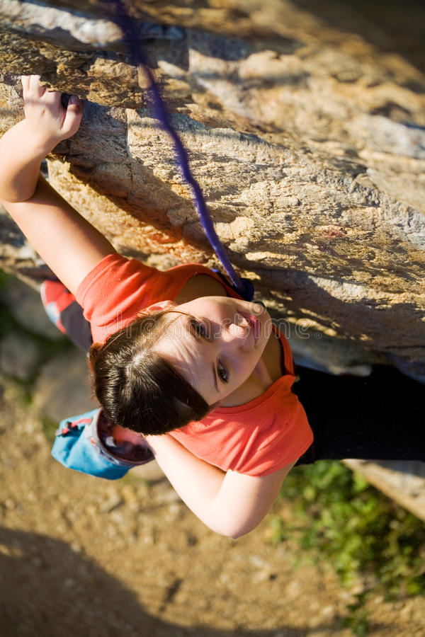 Download Rock-climber stock photo. Image of extreme, exercise - 10964050