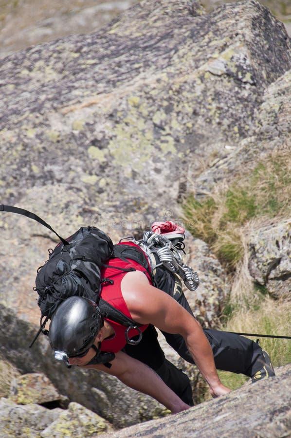 Free Rock Climber Royalty Free Stock Photos - 22592288