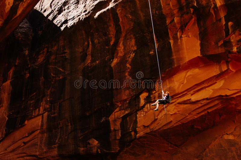 Rock Climber On Cliff Free Public Domain Cc0 Image