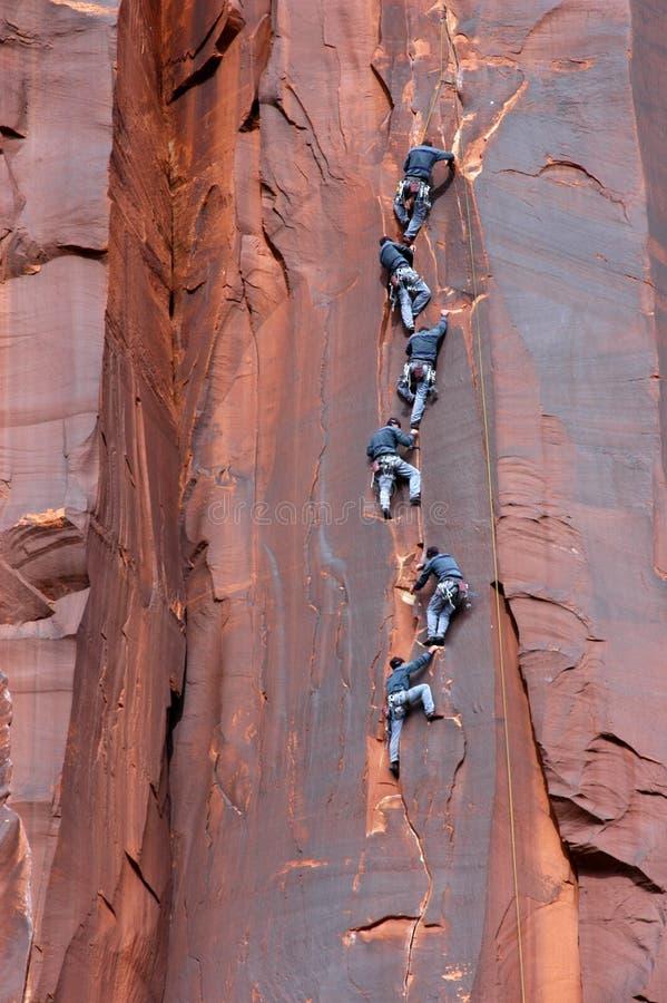 Free Rock Climbing Royalty Free Stock Image - 2463416