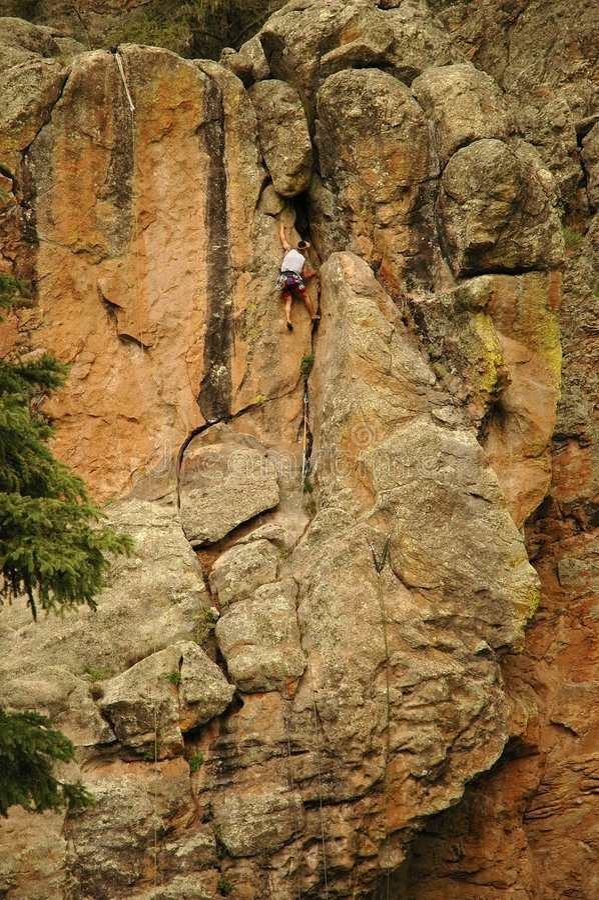 Download Rock Climbing stock photo. Image of karabiner, metal, hobby - 471722