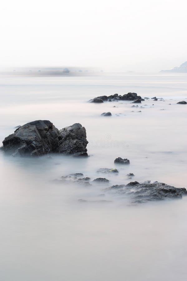Download Rock Coast Background Stock Image - Image: 12481151