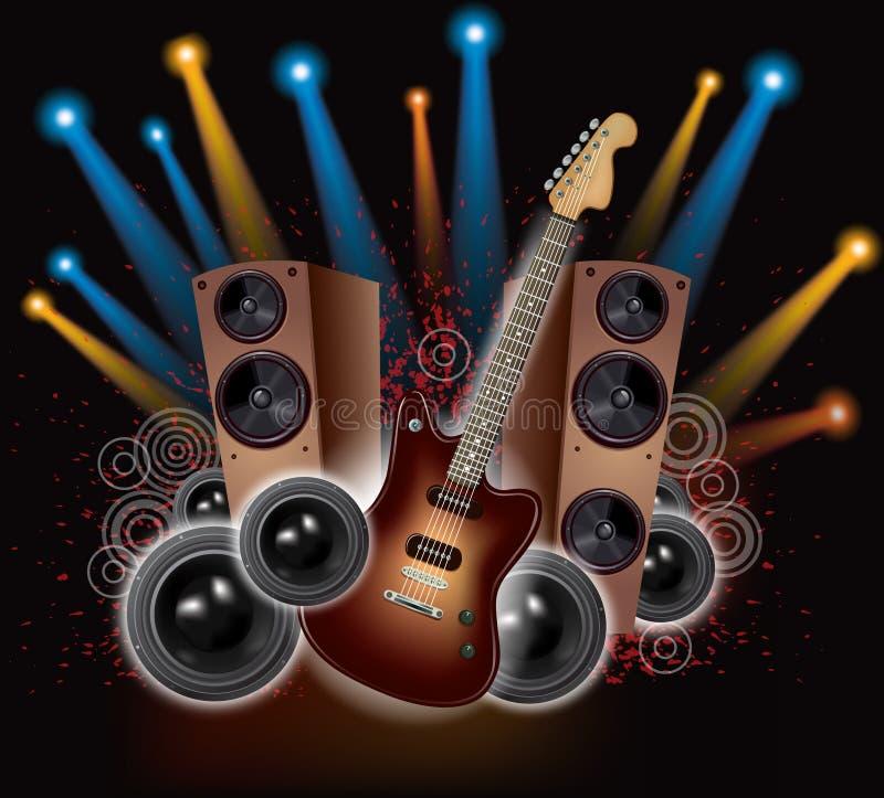 Download Rock Concert stock vector. Illustration of design, musical - 27932947