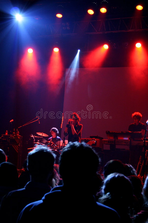 Download Rock concert editorial stock photo. Image of colorful - 4449013