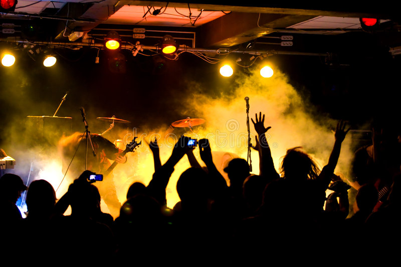 Download Rock concert stock photo. Image of night, rock, player - 5105624