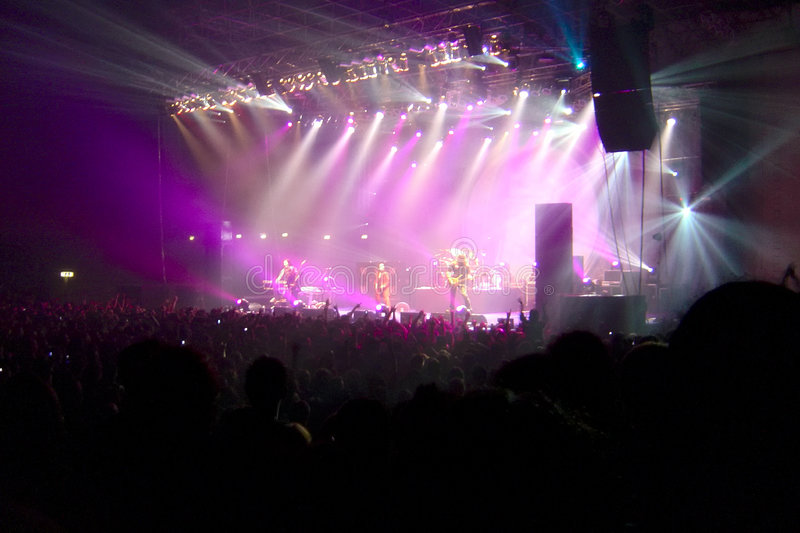 Download Rock Concert stock photo. Image of audience, metal, group - 6907034