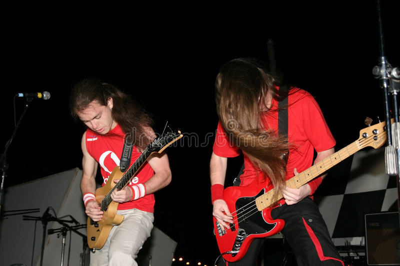 Download Rock concert editorial stock photo. Image of electric - 7649928