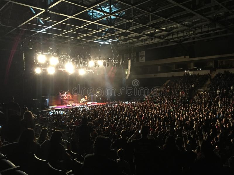 Rock Concert royalty free stock photos