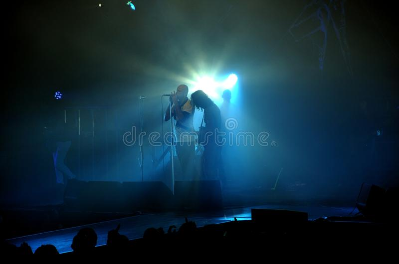 Download Rock concert in Italy editorial photo. Image of cheer - 23139861