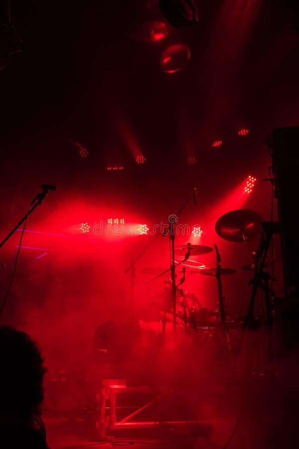 Rock concert music stock photography