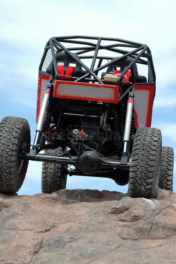 Free Rock Crawling. Stock Images - 2187444