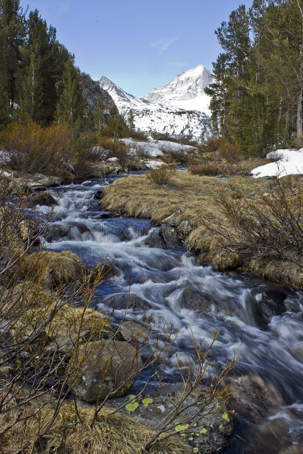 Rock Creek di ruzzolamento fotografia stock libera da diritti
