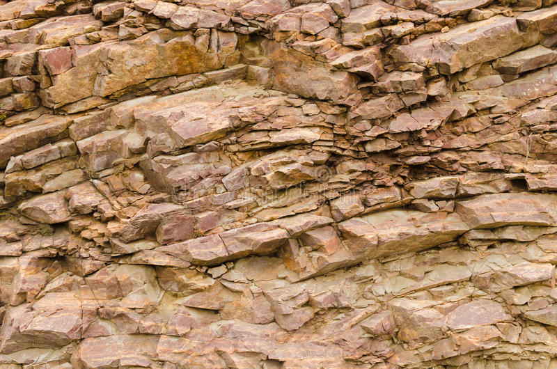 Rock crevices texture stock image