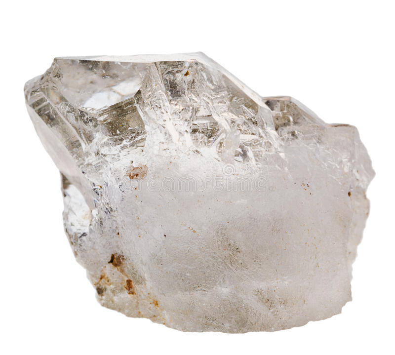 Rock Crystal Mineral Quartz Stock Image Image Of Small