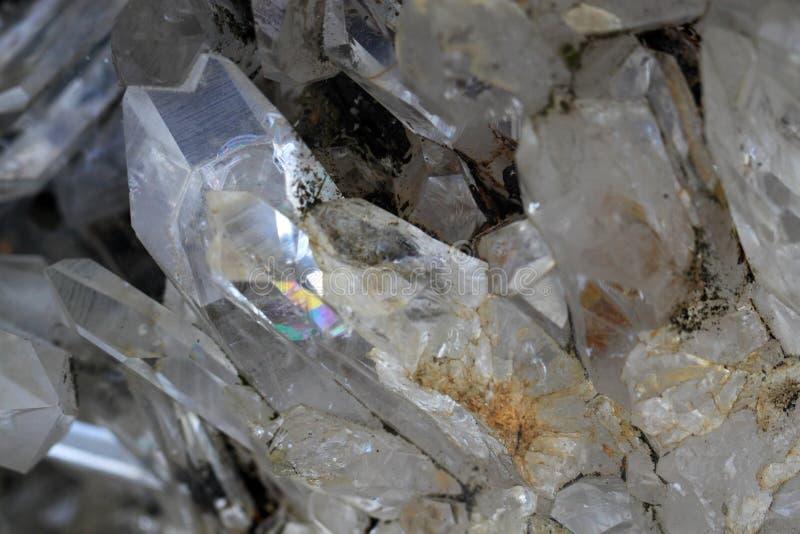 Rock crystal stone royalty free stock image