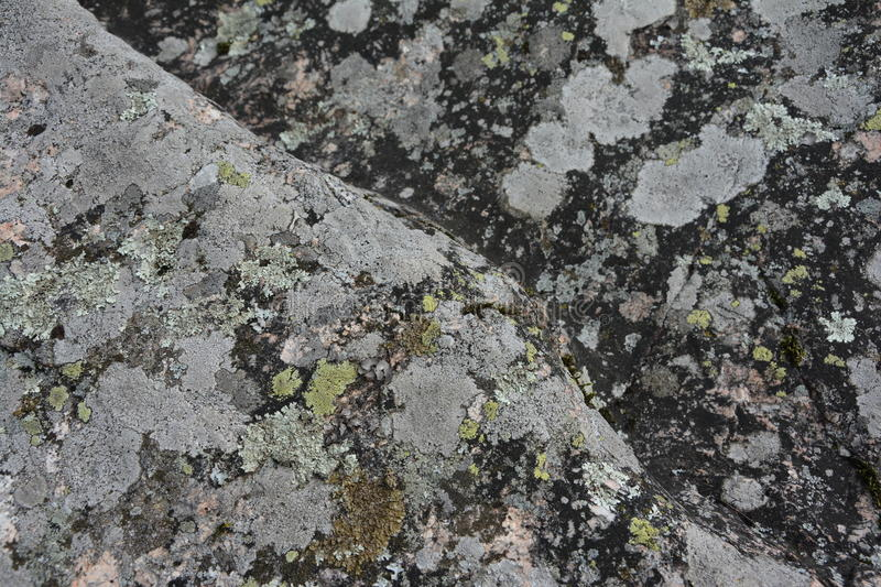 Rock with diagonal pattern stock image