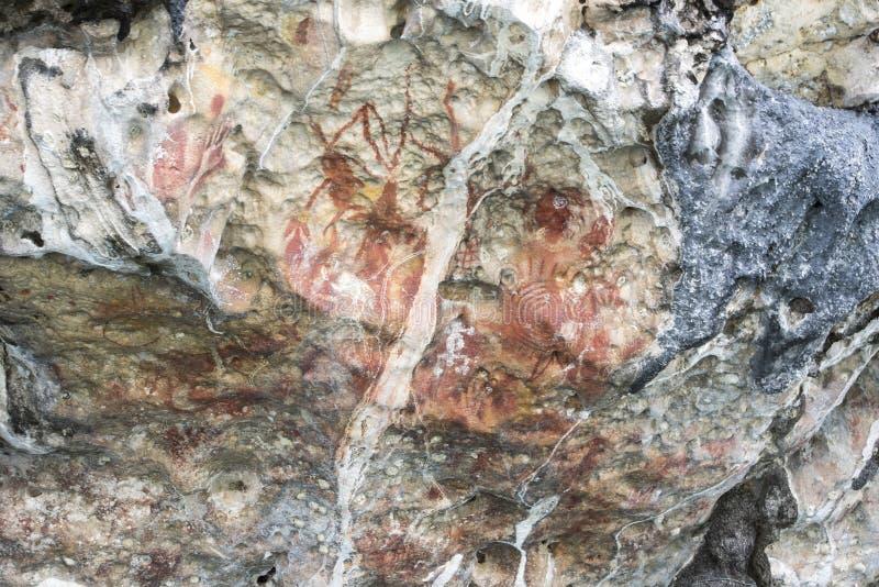 Download Rock Drawing, Arguni, Indonesia Stock Image - Image: 83710073
