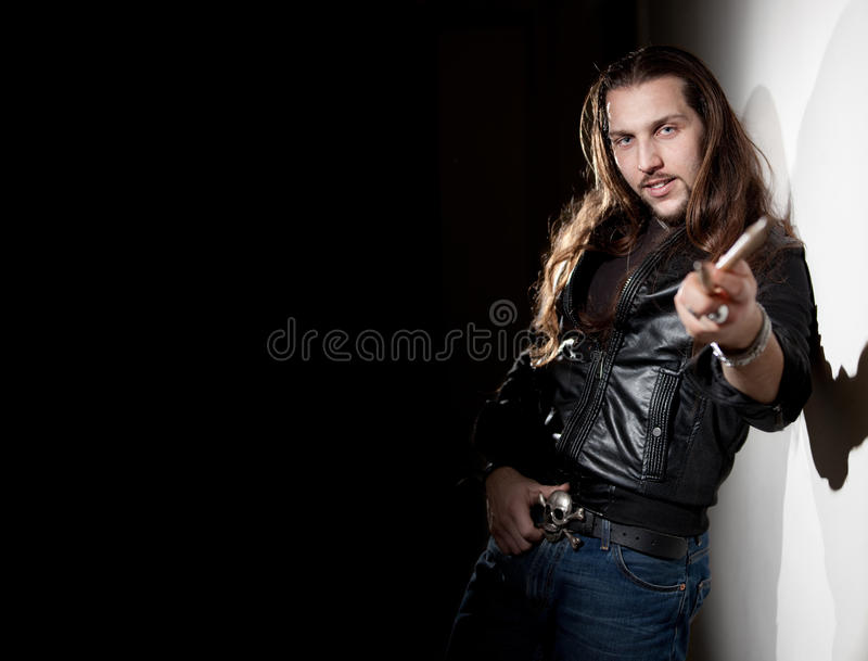 Rock Drummer Royalty Free Stock Photo