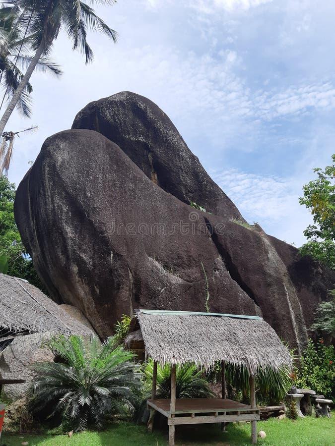A rock stock photo