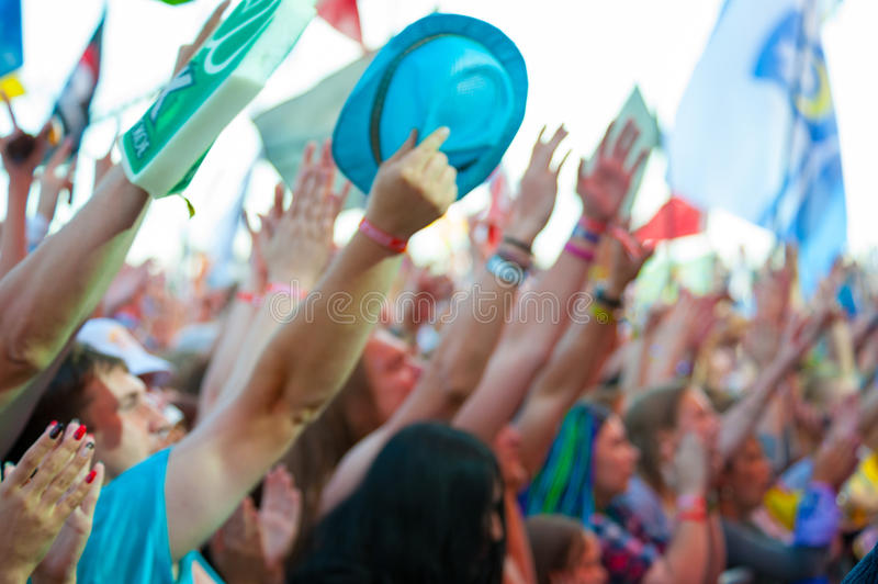 Rock festival royalty free stock image
