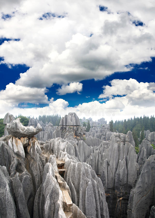 Download Rock Forest Near Kunming City Stock Image - Image: 9409083