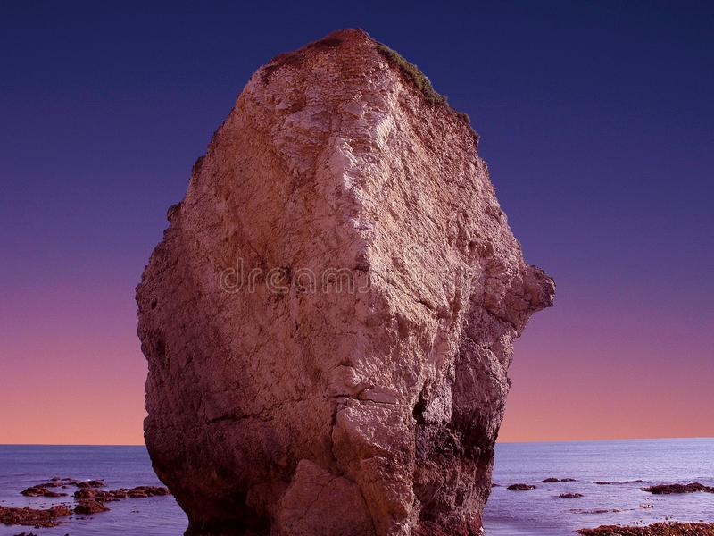 Rock Formation On Body Of Water Free Public Domain Cc0 Image