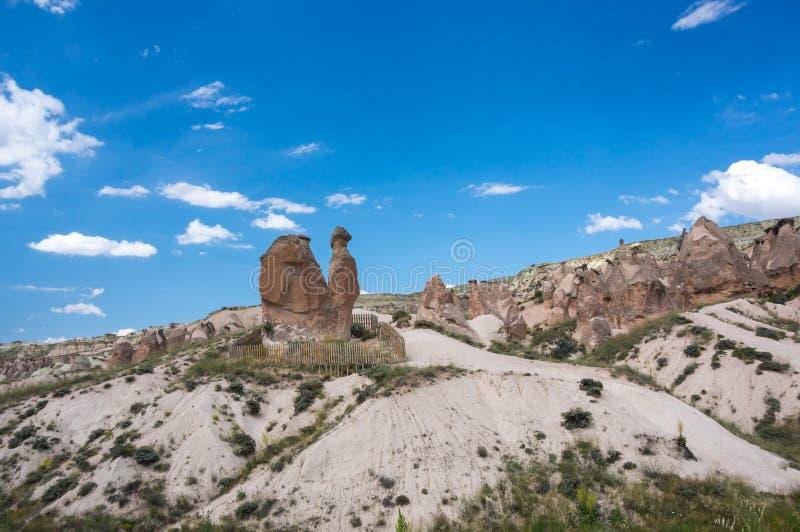 Camel rock in Cappadocia stock photos