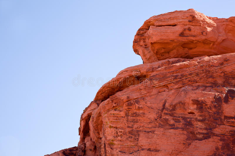 Rock formation in Valley of Fire royalty free stock photos