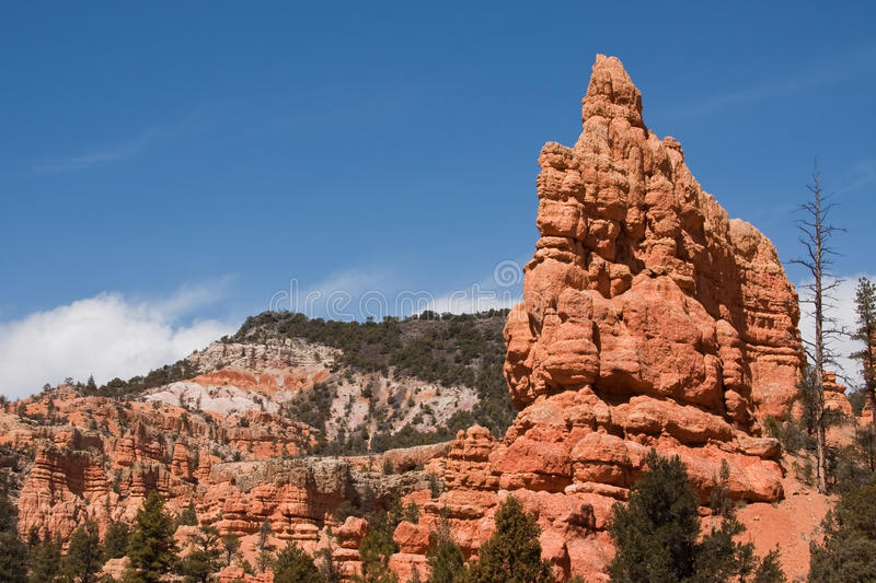 Download Rock Formations In Red Canyon Stock Photo - Image: 10899106