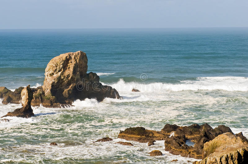 Download Rock Formations On Seacoast Stock Photo - Image: 13503468