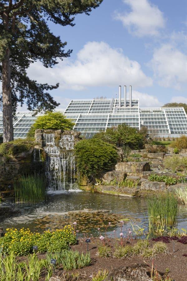 Rock garden at Kew Gardens stock photo
