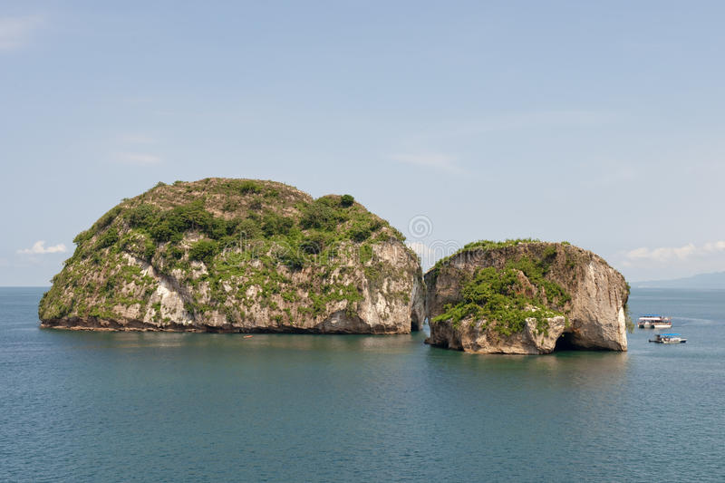 Download Rock islands in ocean stock image. Image of coastal, formations - 10628123